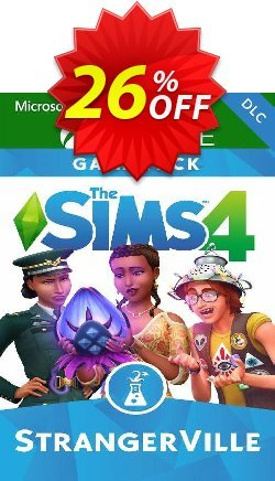 The Sims 4 - StrangerVille Xbox One - UK  Coupon discount The Sims 4 - StrangerVille Xbox One (UK) Deal 2021 CDkeys - The Sims 4 - StrangerVille Xbox One (UK) Exclusive Sale offer for iVoicesoft
