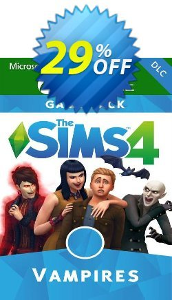 The Sims 4 -  Vampires Game Pack Xbox One - UK  Coupon discount The Sims 4 -  Vampires Game Pack Xbox One (UK) Deal 2021 CDkeys. Promotion: The Sims 4 -  Vampires Game Pack Xbox One (UK) Exclusive Sale offer for iVoicesoft