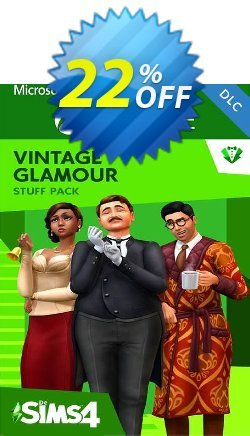 The Sims 4 - Vintage Glamour Stuff Xbox One - UK  Coupon discount The Sims 4 - Vintage Glamour Stuff Xbox One (UK) Deal 2021 CDkeys - The Sims 4 - Vintage Glamour Stuff Xbox One (UK) Exclusive Sale offer for iVoicesoft