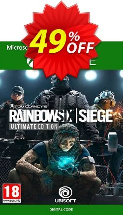 Tom Clancy's Rainbow Six Siege - Ultimate Edition Xbox One - UK  Coupon discount Tom Clancy's Rainbow Six Siege - Ultimate Edition Xbox One (UK) Deal 2021 CDkeys - Tom Clancy's Rainbow Six Siege - Ultimate Edition Xbox One (UK) Exclusive Sale offer for iVoicesoft