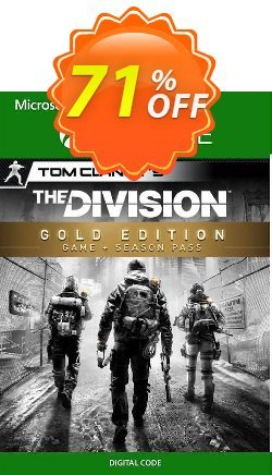 Tom Clancy's The Division - Gold Edition Xbox One - UK  Coupon discount Tom Clancy's The Division - Gold Edition Xbox One (UK) Deal 2021 CDkeys - Tom Clancy's The Division - Gold Edition Xbox One (UK) Exclusive Sale offer for iVoicesoft
