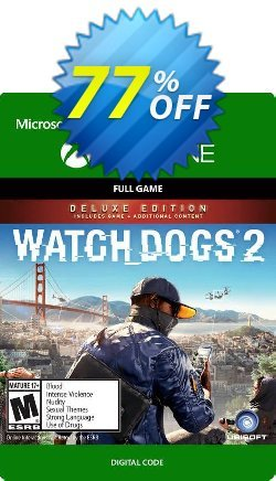 Watch Dogs 2 - Deluxe Edition Xbox One Coupon discount Watch Dogs 2 - Deluxe Edition Xbox One Deal 2021 CDkeys - Watch Dogs 2 - Deluxe Edition Xbox One Exclusive Sale offer for iVoicesoft