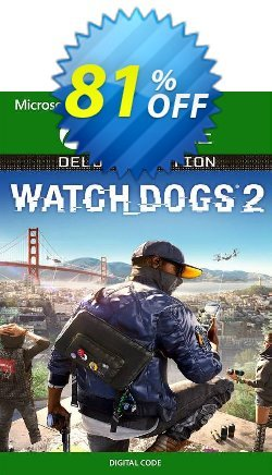 Watch Dogs 2 - Deluxe Edition Xbox One - UK  Coupon discount Watch Dogs 2 - Deluxe Edition Xbox One (UK) Deal 2021 CDkeys - Watch Dogs 2 - Deluxe Edition Xbox One (UK) Exclusive Sale offer for iVoicesoft