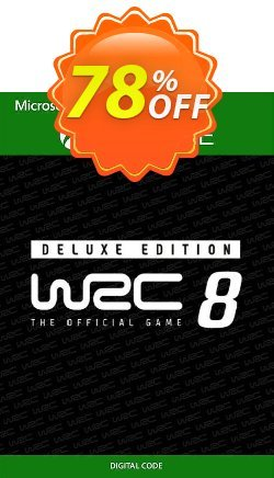WRC 8 Deluxe Edition FIA World Rally Championship Xbox One - UK  Coupon discount WRC 8 Deluxe Edition FIA World Rally Championship Xbox One (UK) Deal 2021 CDkeys - WRC 8 Deluxe Edition FIA World Rally Championship Xbox One (UK) Exclusive Sale offer for iVoicesoft