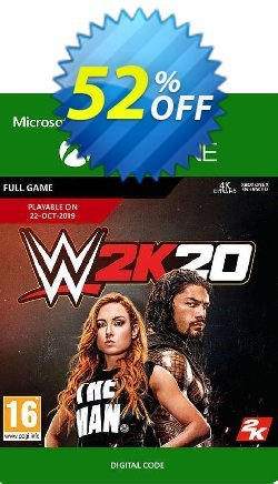 WWE 2K20 Xbox One Coupon discount WWE 2K20 Xbox One Deal 2021 CDkeys - WWE 2K20 Xbox One Exclusive Sale offer for iVoicesoft