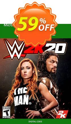 WWE 2K20 Xbox One - UK  Coupon discount WWE 2K20 Xbox One (UK) Deal 2021 CDkeys - WWE 2K20 Xbox One (UK) Exclusive Sale offer for iVoicesoft