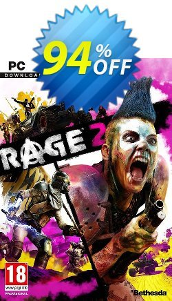 Rage 2 PC - EMEA  Coupon discount Rage 2 PC (EMEA) Deal - Rage 2 PC (EMEA) Exclusive offer for iVoicesoft