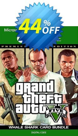 Grand Theft Auto V Premium Online Edition & Whale Shark Card Bundle Xbox One - US  Coupon discount Grand Theft Auto V Premium Online Edition & Whale Shark Card Bundle Xbox One (US) Deal 2021 CDkeys - Grand Theft Auto V Premium Online Edition & Whale Shark Card Bundle Xbox One (US) Exclusive Sale offer for iVoicesoft