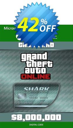 Grand Theft Auto V - Megalodon Cash Card Xbox One - EU  Coupon discount Grand Theft Auto V - Megalodon Cash Card Xbox One (EU) Deal 2021 CDkeys - Grand Theft Auto V - Megalodon Cash Card Xbox One (EU) Exclusive Sale offer for iVoicesoft