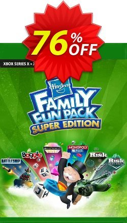 Hasbro Family Fun Pack - Super Edition Xbox One - UK  Coupon discount Hasbro Family Fun Pack - Super Edition Xbox One (UK) Deal 2021 CDkeys - Hasbro Family Fun Pack - Super Edition Xbox One (UK) Exclusive Sale offer for iVoicesoft