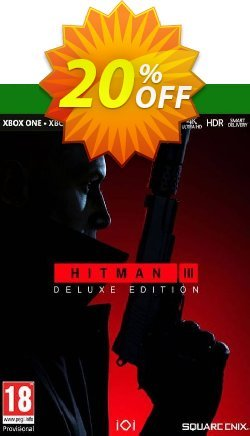 HITMAN 3 Deluxe Edition Xbox One/Xbox Series X|S - EU  Coupon discount HITMAN 3 Deluxe Edition Xbox One/Xbox Series X|S (EU) Deal 2021 CDkeys - HITMAN 3 Deluxe Edition Xbox One/Xbox Series X|S (EU) Exclusive Sale offer for iVoicesoft