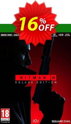HITMAN 3 Deluxe Edition Xbox One/Xbox Series X|S - UK  Coupon discount HITMAN 3 Deluxe Edition Xbox One/Xbox Series X|S (UK) Deal 2021 CDkeys - HITMAN 3 Deluxe Edition Xbox One/Xbox Series X|S (UK) Exclusive Sale offer for iVoicesoft