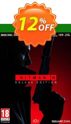 HITMAN 3 Deluxe Edition Xbox One/Xbox Series X|S - US  Coupon discount HITMAN 3 Deluxe Edition Xbox One/Xbox Series X|S (US) Deal 2021 CDkeys - HITMAN 3 Deluxe Edition Xbox One/Xbox Series X|S (US) Exclusive Sale offer for iVoicesoft