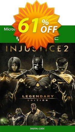 Injustice 2 - Legendary Edition Xbox One - EU  Coupon discount Injustice 2 - Legendary Edition Xbox One (EU) Deal 2021 CDkeys - Injustice 2 - Legendary Edition Xbox One (EU) Exclusive Sale offer for iVoicesoft