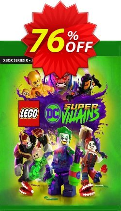 LEGO DC Super-Villains Xbox One - US  Coupon discount LEGO DC Super-Villains Xbox One (US) Deal 2021 CDkeys - LEGO DC Super-Villains Xbox One (US) Exclusive Sale offer for iVoicesoft