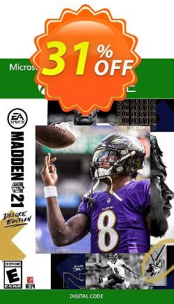 Madden NFL 21: Deluxe Edition Xbox One - EU  Coupon discount Madden NFL 21: Deluxe Edition Xbox One (EU) Deal 2021 CDkeys - Madden NFL 21: Deluxe Edition Xbox One (EU) Exclusive Sale offer for iVoicesoft