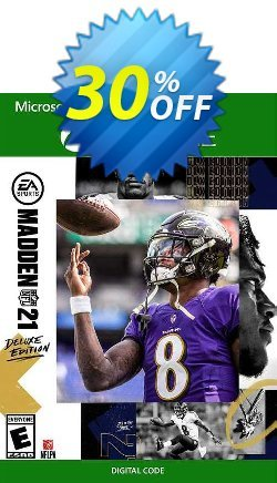 Madden NFL 21: Deluxe Edition Xbox One - UK  Coupon discount Madden NFL 21: Deluxe Edition Xbox One (UK) Deal 2021 CDkeys - Madden NFL 21: Deluxe Edition Xbox One (UK) Exclusive Sale offer for iVoicesoft