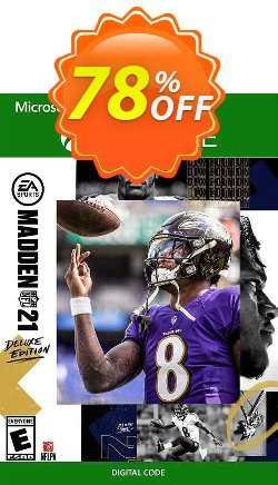 Madden NFL 21: Deluxe Edition Xbox One - US  Coupon discount Madden NFL 21: Deluxe Edition Xbox One (US) Deal 2021 CDkeys - Madden NFL 21: Deluxe Edition Xbox One (US) Exclusive Sale offer for iVoicesoft