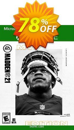Madden NFL 21: MVP Edition Xbox One - US  Coupon discount Madden NFL 21: MVP Edition Xbox One (US) Deal 2021 CDkeys - Madden NFL 21: MVP Edition Xbox One (US) Exclusive Sale offer for iVoicesoft