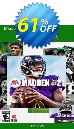 Madden NFL 21: Standard Edition Xbox One - EU  Coupon discount Madden NFL 21: Standard Edition Xbox One (EU) Deal 2021 CDkeys. Promotion: Madden NFL 21: Standard Edition Xbox One (EU) Exclusive Sale offer for iVoicesoft
