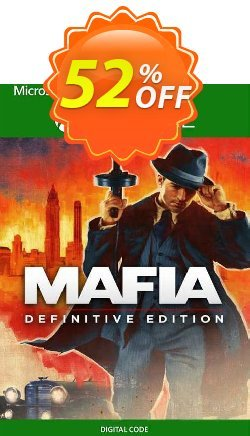 Mafia: Definitive Edition Xbox One Coupon discount Mafia: Definitive Edition Xbox One Deal 2021 CDkeys - Mafia: Definitive Edition Xbox One Exclusive Sale offer for iVoicesoft