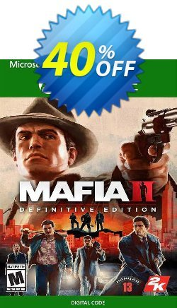 Mafia II: Definitive Edition Xbox One - UK  Coupon discount Mafia II: Definitive Edition Xbox One (UK) Deal 2021 CDkeys - Mafia II: Definitive Edition Xbox One (UK) Exclusive Sale offer for iVoicesoft