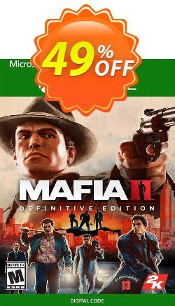 Mafia II: Definitive Edition Xbox One - US  Coupon discount Mafia II: Definitive Edition Xbox One (US) Deal 2021 CDkeys - Mafia II: Definitive Edition Xbox One (US) Exclusive Sale offer for iVoicesoft