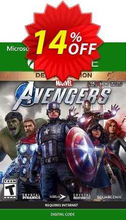 Marvel's Avengers Deluxe Edition Xbox One - EU  Coupon discount Marvel's Avengers Deluxe Edition Xbox One (EU) Deal 2021 CDkeys - Marvel's Avengers Deluxe Edition Xbox One (EU) Exclusive Sale offer for iVoicesoft