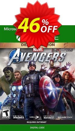 Marvel's Avengers Deluxe Edition Xbox One - US  Coupon discount Marvel's Avengers Deluxe Edition Xbox One (US) Deal 2021 CDkeys - Marvel's Avengers Deluxe Edition Xbox One (US) Exclusive Sale offer for iVoicesoft