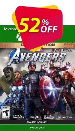 Marvel's Avengers Deluxe Edition Xbox One - WW  Coupon discount Marvel's Avengers Deluxe Edition Xbox One (WW) Deal 2021 CDkeys - Marvel's Avengers Deluxe Edition Xbox One (WW) Exclusive Sale offer for iVoicesoft