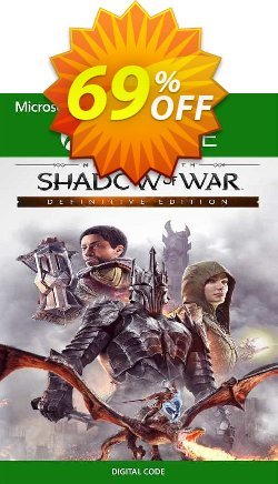 Middle Earth: Shadow of War Definitive Edition Xbox One - US  Coupon discount Middle Earth: Shadow of War Definitive Edition Xbox One (US) Deal 2021 CDkeys - Middle Earth: Shadow of War Definitive Edition Xbox One (US) Exclusive Sale offer for iVoicesoft
