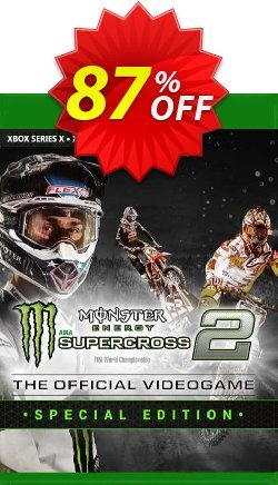 Monster Energy Supercross 2 - Special Edition Xbox One - UK  Coupon discount Monster Energy Supercross 2 - Special Edition Xbox One (UK) Deal 2021 CDkeys - Monster Energy Supercross 2 - Special Edition Xbox One (UK) Exclusive Sale offer for iVoicesoft
