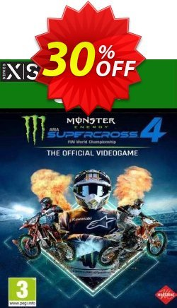Monster Energy Supercross 4 Xbox One/Xbox Series X|S - UK  Coupon discount Monster Energy Supercross 4 Xbox One/Xbox Series X|S (UK) Deal 2021 CDkeys - Monster Energy Supercross 4 Xbox One/Xbox Series X|S (UK) Exclusive Sale offer for iVoicesoft