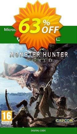 Monster Hunter World Xbox One - UK  Coupon discount Monster Hunter World Xbox One (UK) Deal 2021 CDkeys - Monster Hunter World Xbox One (UK) Exclusive Sale offer for iVoicesoft