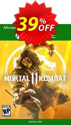 Mortal Kombat 11 Xbox One - US  Coupon discount Mortal Kombat 11 Xbox One (US) Deal 2021 CDkeys - Mortal Kombat 11 Xbox One (US) Exclusive Sale offer for iVoicesoft