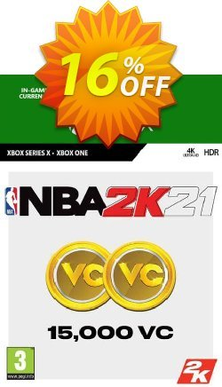NBA 2K21: 15,000 VC Xbox One Coupon discount NBA 2K21: 15,000 VC Xbox One Deal 2021 CDkeys - NBA 2K21: 15,000 VC Xbox One Exclusive Sale offer for iVoicesoft