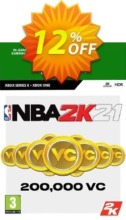 NBA 2K21: 200,000 VC Xbox One Coupon discount NBA 2K21: 200,000 VC Xbox One Deal 2021 CDkeys - NBA 2K21: 200,000 VC Xbox One Exclusive Sale offer for iVoicesoft