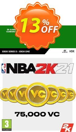 NBA 2K21: 75,000 VC Xbox One Coupon discount NBA 2K21: 75,000 VC Xbox One Deal 2021 CDkeys - NBA 2K21: 75,000 VC Xbox One Exclusive Sale offer for iVoicesoft
