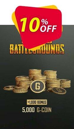 PlayerUnknowns Battlegrounds 6000 G-Coins Xbox One Coupon discount PlayerUnknowns Battlegrounds 6000 G-Coins Xbox One Deal 2021 CDkeys - PlayerUnknowns Battlegrounds 6000 G-Coins Xbox One Exclusive Sale offer for iVoicesoft