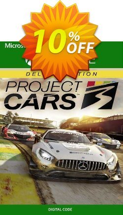 Project Cars 3 Deluxe Edition Xbox One - EU  Coupon discount Project Cars 3 Deluxe Edition Xbox One (EU) Deal 2021 CDkeys - Project Cars 3 Deluxe Edition Xbox One (EU) Exclusive Sale offer for iVoicesoft