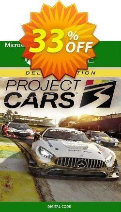 Project Cars 3 Deluxe Edition Xbox One - UK  Coupon discount Project Cars 3 Deluxe Edition Xbox One (UK) Deal 2021 CDkeys - Project Cars 3 Deluxe Edition Xbox One (UK) Exclusive Sale offer for iVoicesoft