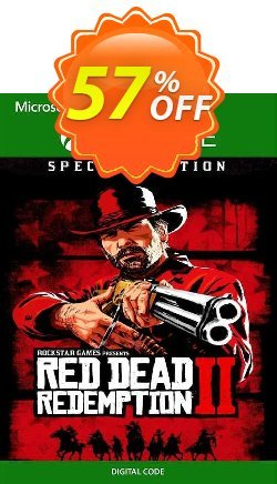 Red Dead Redemption 2 - Special Edition Xbox One - UK  Coupon discount Red Dead Redemption 2 - Special Edition Xbox One (UK) Deal 2021 CDkeys - Red Dead Redemption 2 - Special Edition Xbox One (UK) Exclusive Sale offer for iVoicesoft