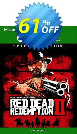 Red Dead Redemption 2 - Special Edition Xbox One - US  Coupon discount Red Dead Redemption 2 - Special Edition Xbox One (US) Deal 2021 CDkeys - Red Dead Redemption 2 - Special Edition Xbox One (US) Exclusive Sale offer for iVoicesoft