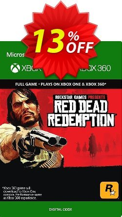 Red Dead Redemption Xbox 360/Xbox One Coupon discount Red Dead Redemption Xbox 360/Xbox One Deal 2021 CDkeys - Red Dead Redemption Xbox 360/Xbox One Exclusive Sale offer for iVoicesoft