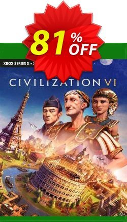 Sid Meier's Civilization VI Xbox One Coupon discount Sid Meier's Civilization VI Xbox One Deal 2021 CDkeys - Sid Meier's Civilization VI Xbox One Exclusive Sale offer for iVoicesoft