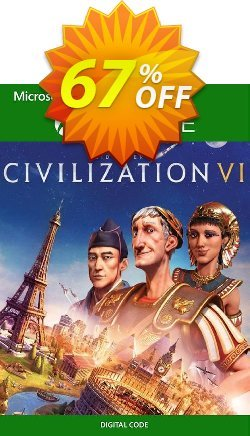 Sid Meier's Civilization VI 6 Xbox One - UK  Coupon discount Sid Meier's Civilization VI 6 Xbox One (UK) Deal 2021 CDkeys - Sid Meier's Civilization VI 6 Xbox One (UK) Exclusive Sale offer for iVoicesoft
