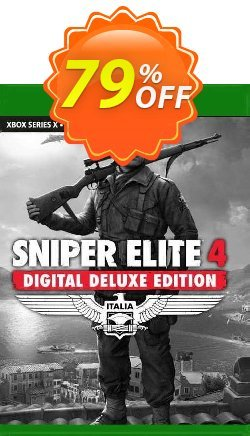 Sniper Elite 4 Digital Deluxe Edition Xbox One - UK  Coupon discount Sniper Elite 4 Digital Deluxe Edition Xbox One (UK) Deal 2021 CDkeys - Sniper Elite 4 Digital Deluxe Edition Xbox One (UK) Exclusive Sale offer for iVoicesoft