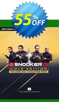 Snooker 19 - Gold Edition Xbox One - UK  Coupon discount Snooker 19 - Gold Edition Xbox One (UK) Deal 2021 CDkeys - Snooker 19 - Gold Edition Xbox One (UK) Exclusive Sale offer for iVoicesoft