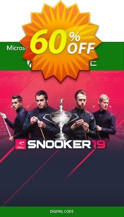 Snooker 19 Xbox One - UK  Coupon discount Snooker 19 Xbox One (UK) Deal 2021 CDkeys. Promotion: Snooker 19 Xbox One (UK) Exclusive Sale offer for iVoicesoft