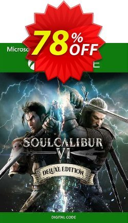 SOULCALIBUR VI Deluxe Edition Xbox One - UK  Coupon discount SOULCALIBUR VI Deluxe Edition Xbox One (UK) Deal 2021 CDkeys - SOULCALIBUR VI Deluxe Edition Xbox One (UK) Exclusive Sale offer for iVoicesoft